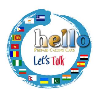Hello International Calling Card card