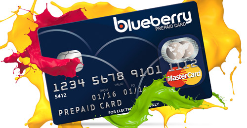 Blueberry Mastercard