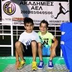 Στήριξη παιδικών ακαδημιών ποδοσφαίρου ΑΕΛ