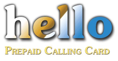Hello Calling Card